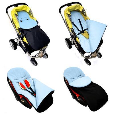 Windproof Keep Warm Baby Sleeping Bag Stroller Foot Cover Pushchair