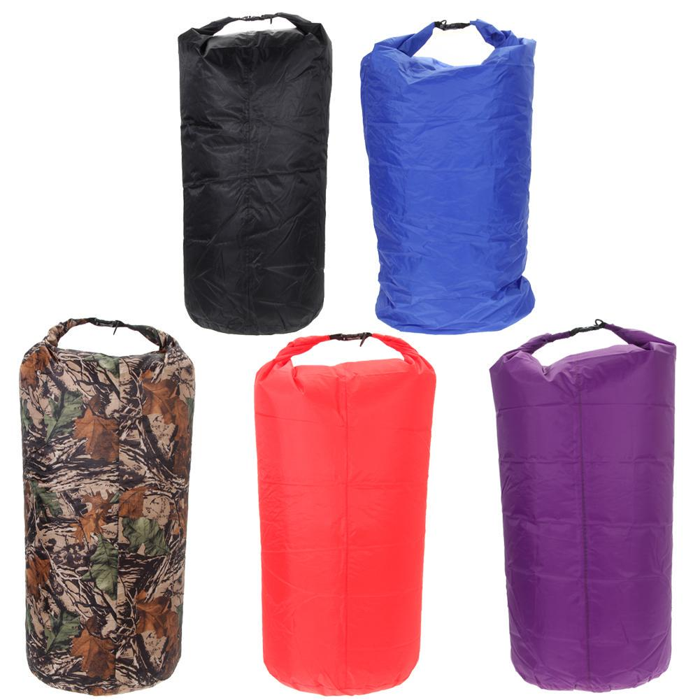 75L Large Camo Waterproof Compression Bag Dry Sack Camping Floating Boating