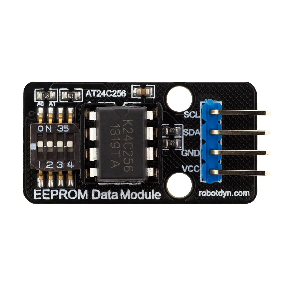 Lot de 5 modules de m/émoire EEPROM Interface I2C 256 K bits AT24C256