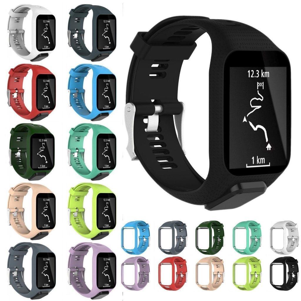 Miękki silikonowy pasek do zegarka WatchTomTom Runner 2   3   Golfer ... f86db55c677
