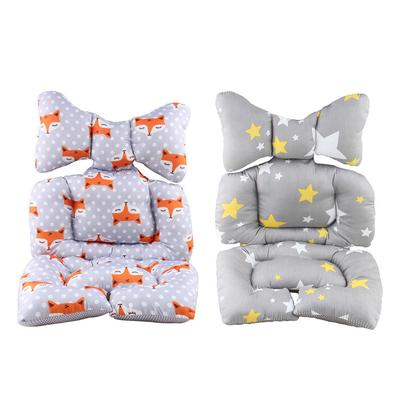 Strollers Accessories Baby Stroller Cotton Pad Childrens Chair Cushion Seat Thicken Cushion Fashion Baby Diaper Stroller Cushion Cotton Stroller