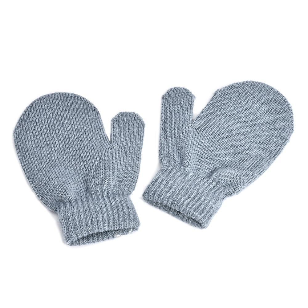 Invierno niño niña bebé niño lindo suave tejer mitones guantes ...