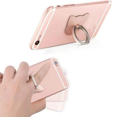 General Mobile Phones Ring Ring Clasp Metal Creative Support Acrylic Ring Stand 2pcs