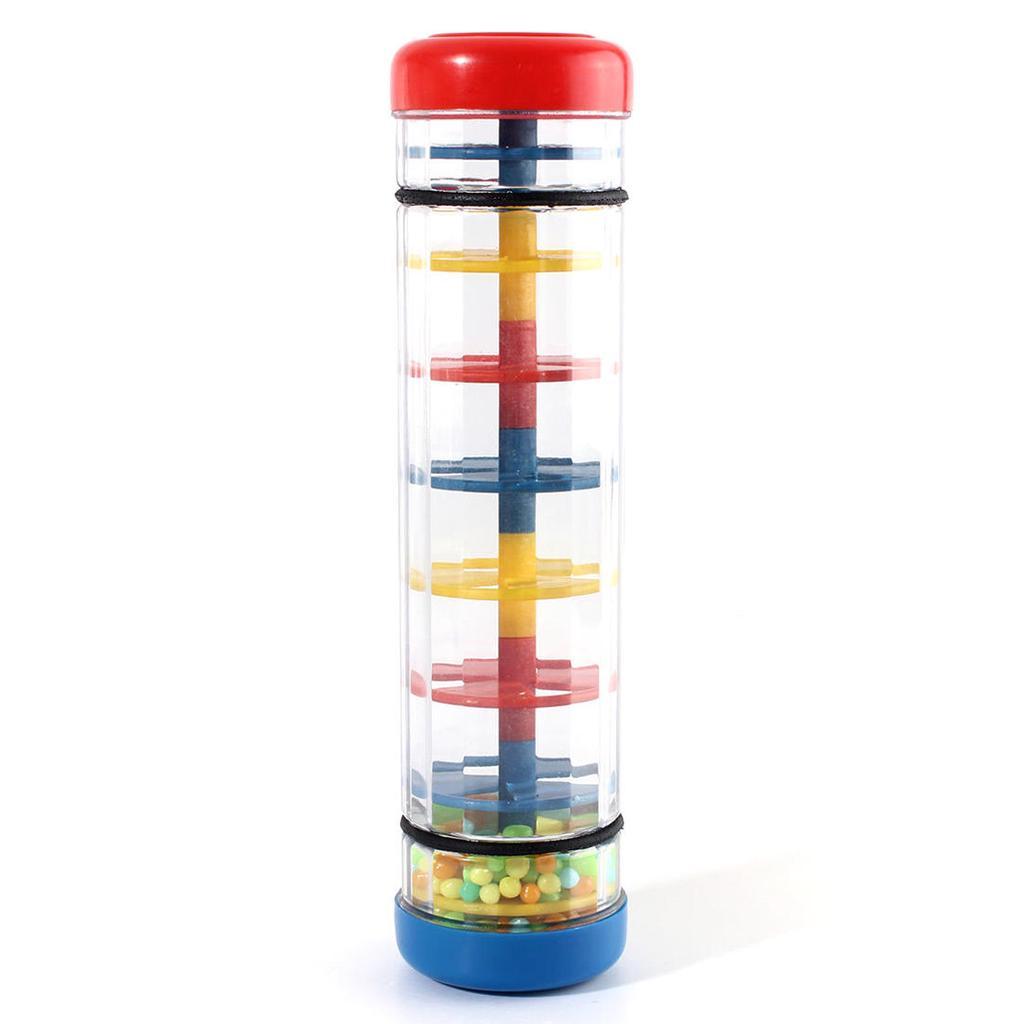Baby Rainmaker Tube Shaker Music Sensory Instrument Education Toy JC