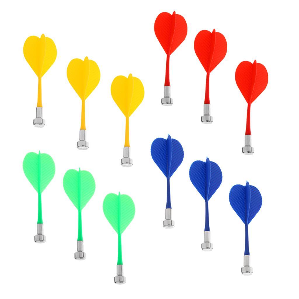 3 pcs//set Dart Accessories Iron Tips Replacement Standard Thread Random Color
