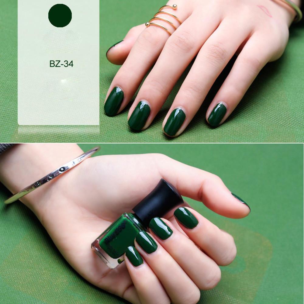 6ml belleza Popular Serie verde uñas uñas polaco profesional ...