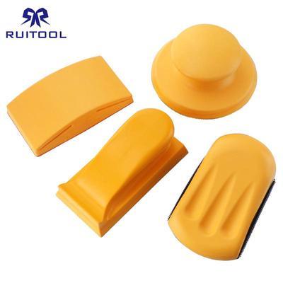 """100-Pk Sanding Foam Sponge 45 Deg Single Angel 3/""""X 5/""""X 1/""""60//100 Standard Orange"""