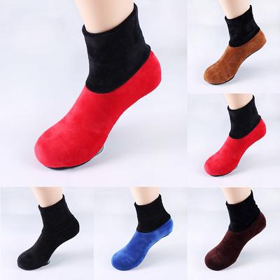 Women Socks Thicke Floor Home Bed Elastic Slip Warm Non Sock Winter Slipper