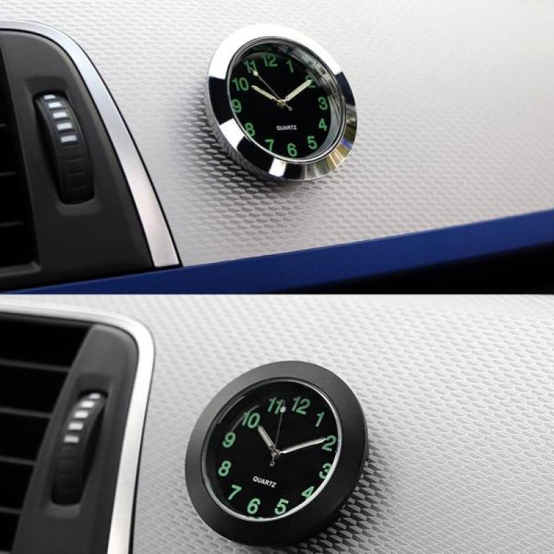 ABXf Портативный автомобиль Цифровые часы Дисплей Электронные часы Автомобиль Часы Украшения Часы Аксессуары автомобиля фото