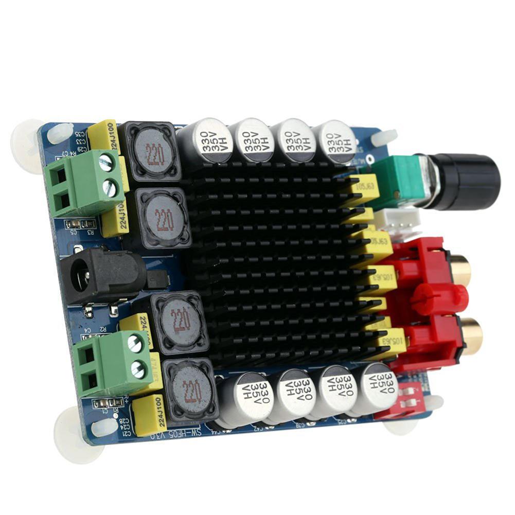 KKmoon TDA7498 Klasse D 2 * 100W Dual Channel Audio Stereo Digital Power  Amplifier Board DC 15-34V-buy at a low prices on Joom e-commerce platform