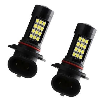 Bombilla de los faros LED Faros de LED 7200LM 2 luces,9004/HB1 6000K blanco reemplazo directo de halógeno bombilla delantera de la motocicleta del automóvil 28W 12V