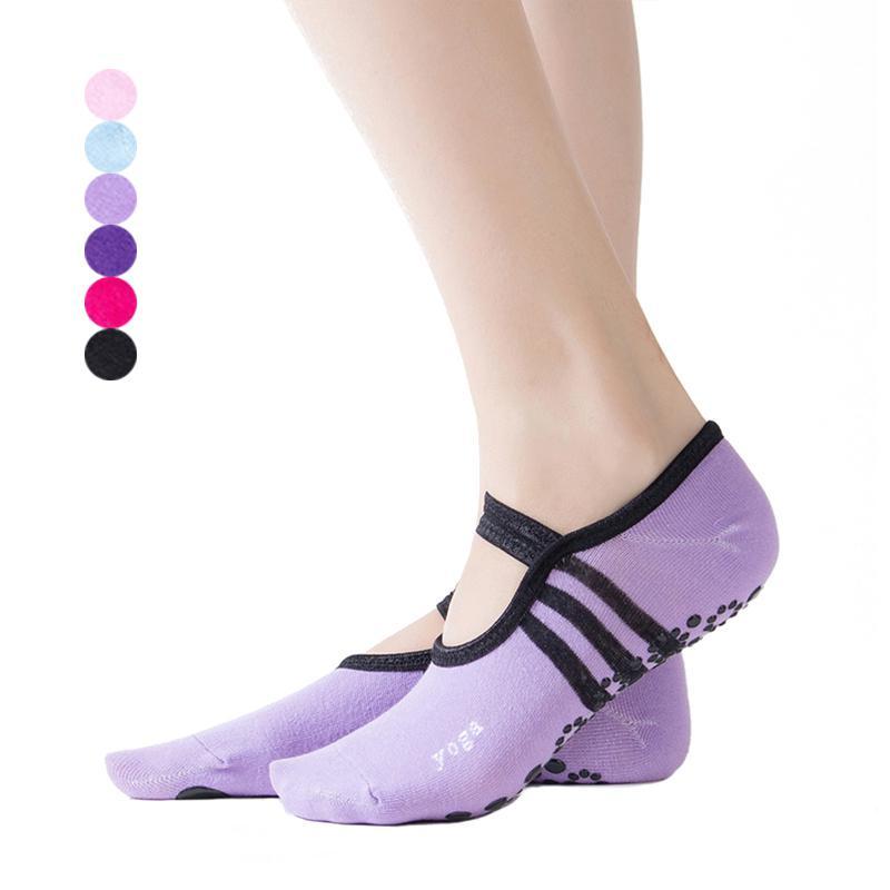 Damenschuhe Yoga Socken Damen Skid Anti Rutsch Socken für