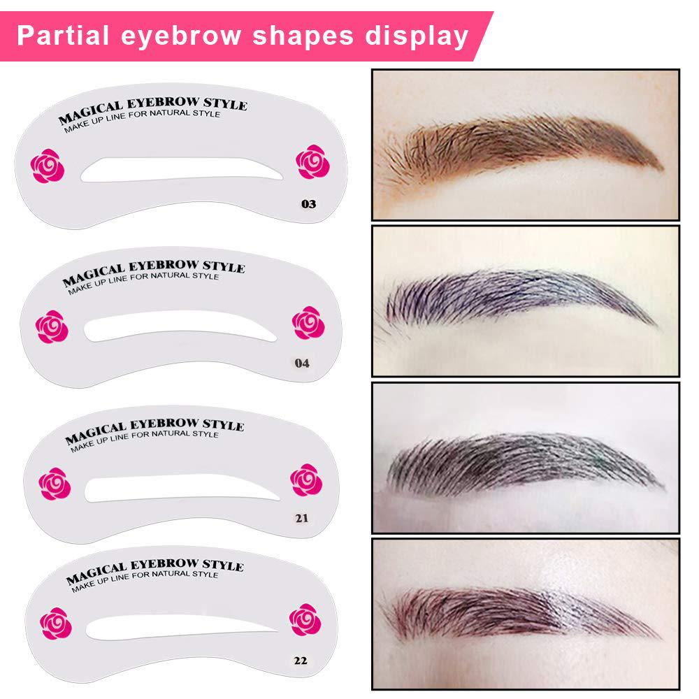 Buy Eyebrow Shaping Stencils Grooming Kit Makeup Shaper Set Diy Template Stencil Tool For Women At Affordable Prices Free Shipping Real Reviews With Photos Joom