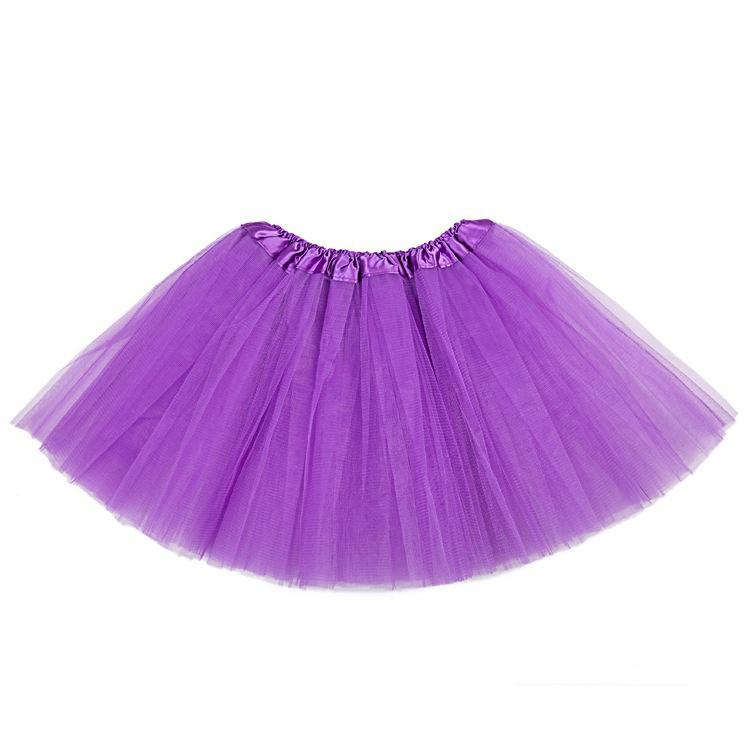 Dulce Kids niñas Tutu falda faldas fantasía vestido partido 3 capas ...