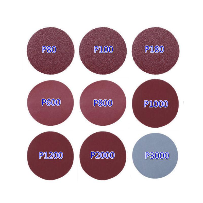 Details about  /200pcs 3 inch 75mm 1500Grit Sanding Disc Sanding  Polishing Pad Sandpaper disc