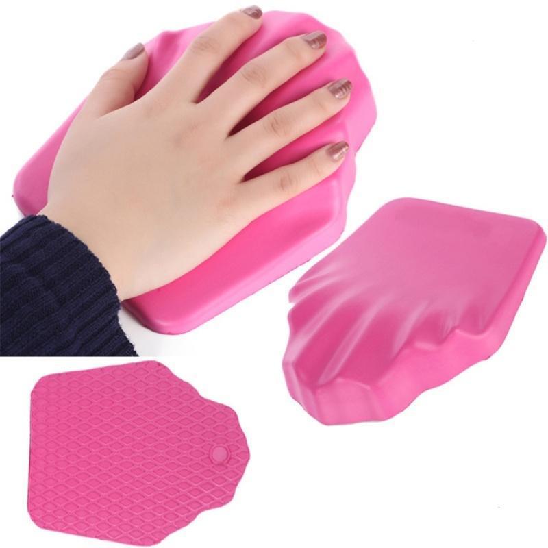 Handauflagen 1 Pc Rosa Weiche Hand Rest Halter Professionelle Abnehmbare Kissen Kissen Nail Art Design Maniküre Pflege Salon Ausrüstung Werkzeug Werkzeuge & Zubehör