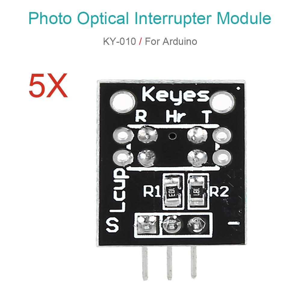 Ky 010 Photo Interrupter Module Opto Sensor Optical Board 5pcs For Alarm Circuitphotointerrupter Controlcircuit Circuit Arduino Keyes Compatible Analog Buy At A Low Prices On Joom E Commerce Platform