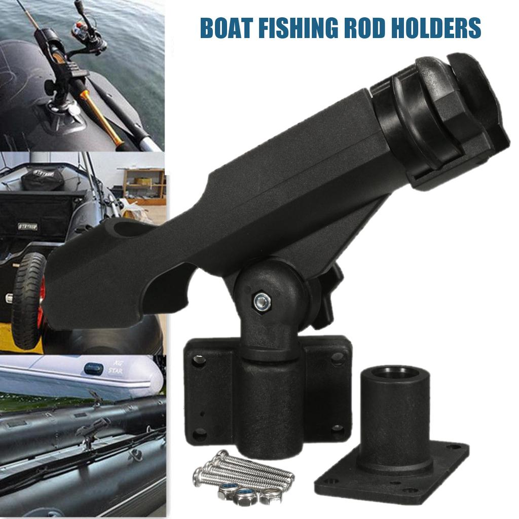 Inflatable Boat Accessory Dinghy Raft Fishing Tool UK Rod Pole Holder D7Y8