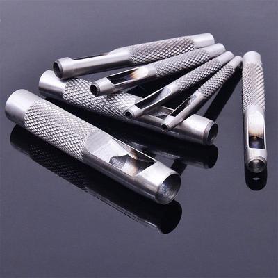 Rivet Setter Punch Pinces Oeillet R/églage Outil avec 100pcs Easy Press Oeufs Creux pour Cuir Tissu Ceinture V/êtements