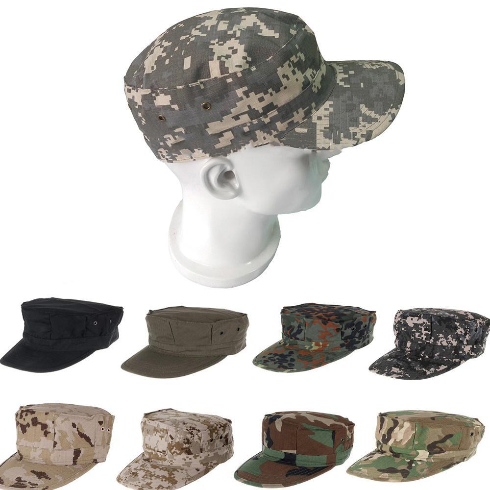 Armee-Stil Taktisch Barett Klassisch Militär Unisex Hut Herren Patrouille Kappe