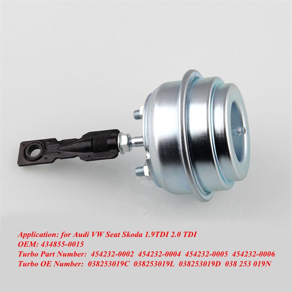 VW 1.9 TDI ALH AHF AUY GT1749V Turbo Wastegate Vacuum Actuator 434855-0015