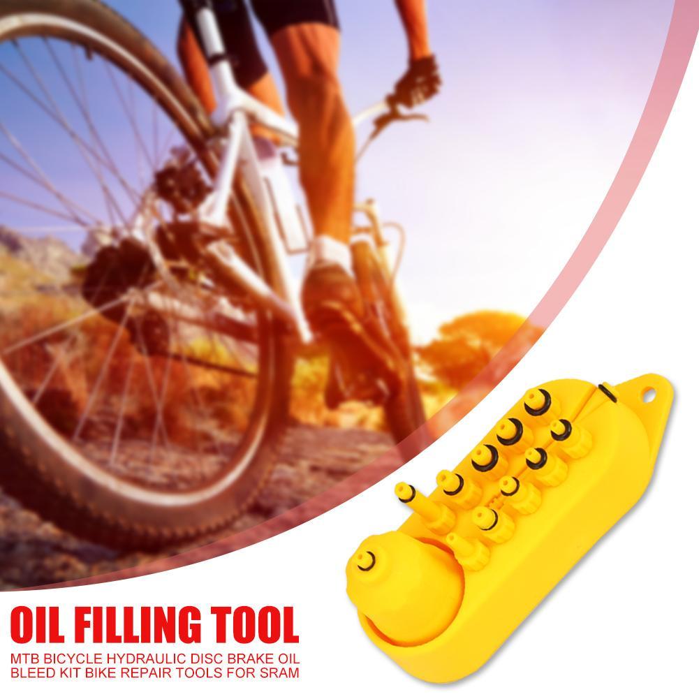 Bicycle Hydraulic Disc Brake Oil Bleed Kit MTB Repair Tools for Mountain Bike