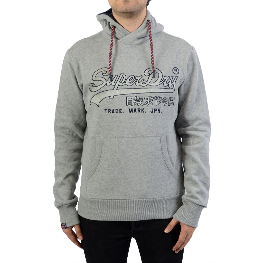Superdry T-Shirt Navy Sizes S M Mens Downhill Racer Applique