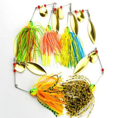 Fishing Hard Spinner Köder Spinnerbait Pike Bass 12-14g