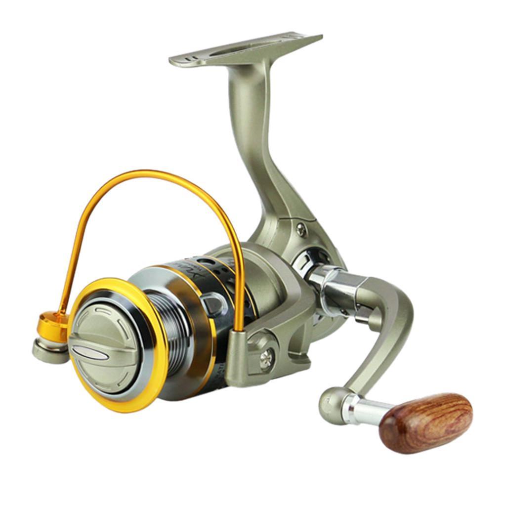 Wheels Fish Spinning Reel 5.5:1Carretilhas Pescaria Molinete JX1000-7000series