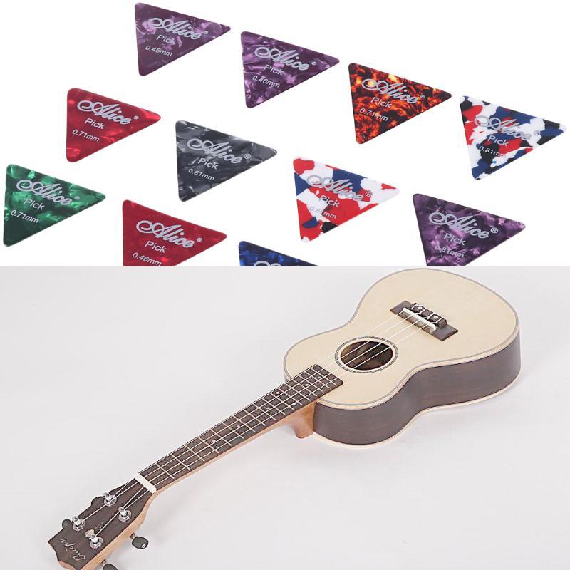 2PCS Plectrum Holder 10PCS Celluloid Guitar Picks For Acoustic Electric Guitar