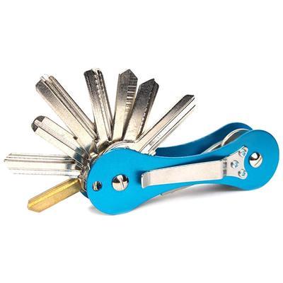 Clip US EDC Aluminum Key Holder Organizer Folder Keyring Keychain Pocket Tool