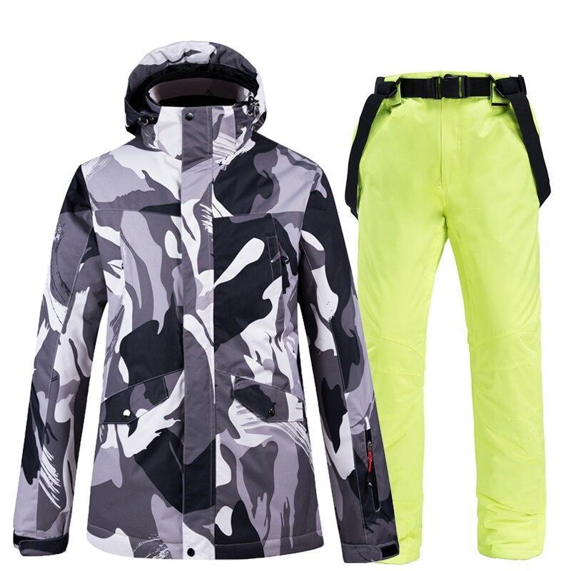 Rain Coat Windproof Waterproof Hooded Jacket Pants Outdoor Sports Suit Unisex