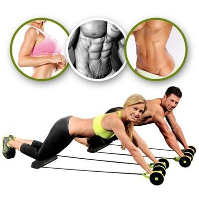 Abdominal Power Roll Ab Trainer Waist Slim Exercise Core Double Wheel Fitness Buy At A Low Prices On Joom E Commerce Platform
