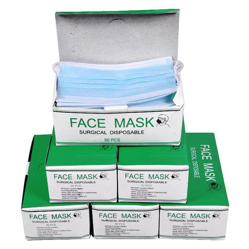 Supplies Mask Nail Art 50pcs Disposable