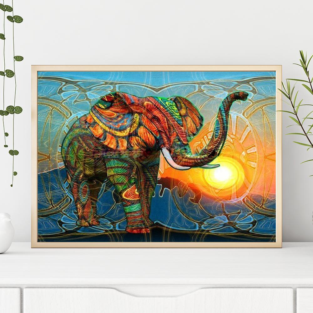 Painting Kit DIY Diamond 5D Full Drill Crystal Rhinestone Embroidery for Home Wall Decor Wall Sticker 30*30CM Buddha