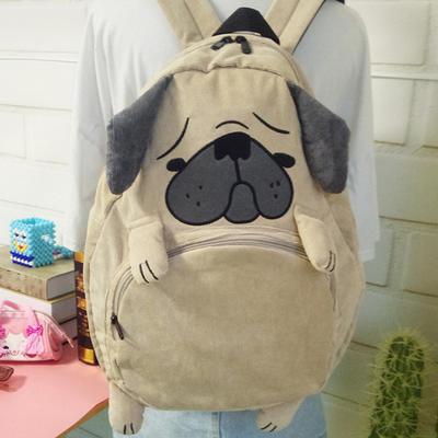 Lizard Cartoon Zipper Backpack School Bags Shoulder Bag Cute Cartoon Backpacks f