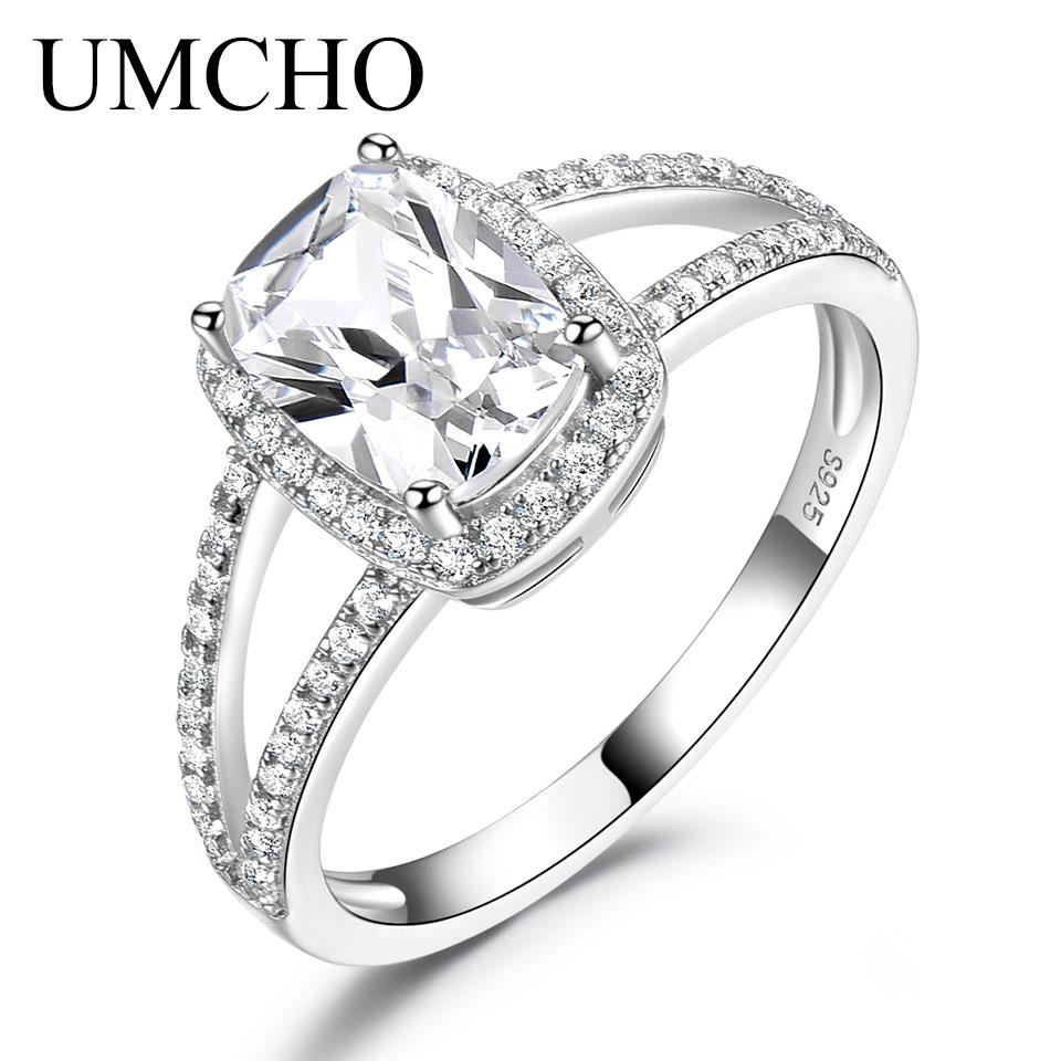 Ladies Fashion Real 925 Sterling Silver 5 Stone AAA Zircon Band Ring SIZE 5-9