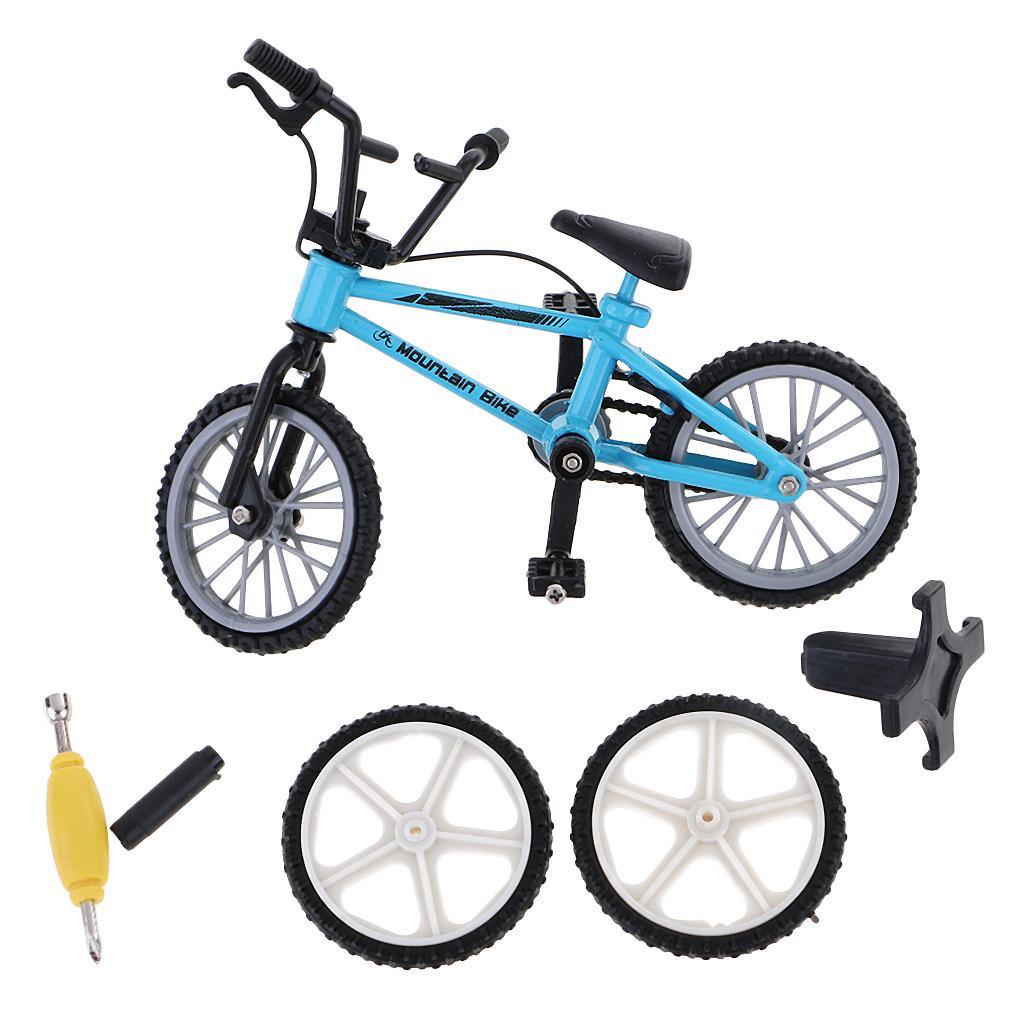 Finger Simulation Mountain Bike Miniature Bicycle Kids Toys Creative Game Gift BrawljRORty Dollhouse Accessories