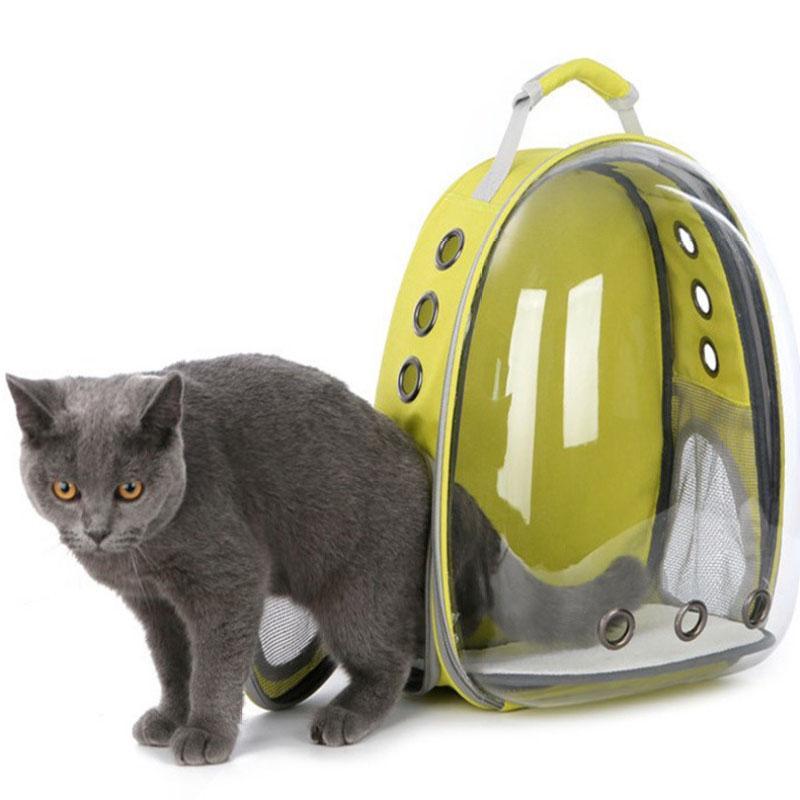 5 cores respirável transparente pet mochila de viagem Cachorro cat transport ombro Bolsa