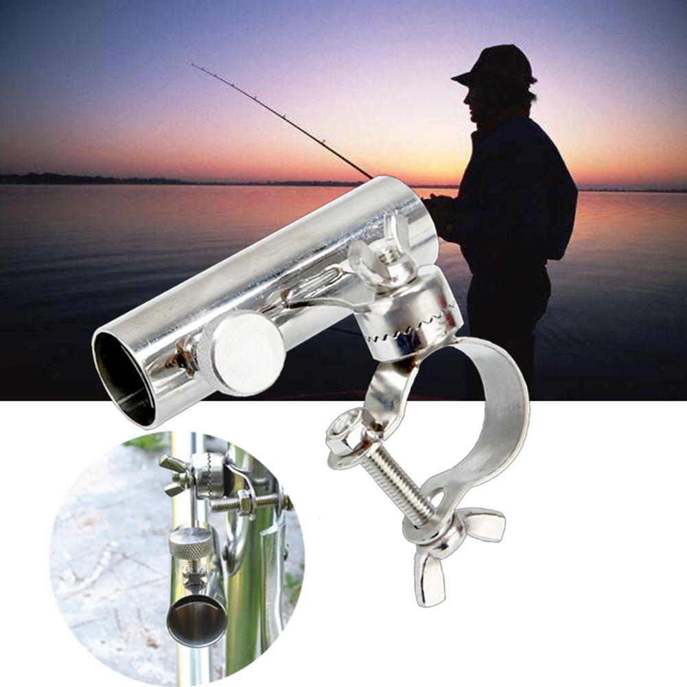 4 Pack White Plastic Fishing Rod Holder Socket Marine Boat Kayak Accessories