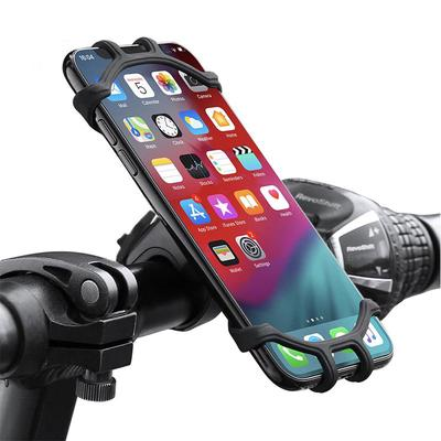CTXTKER Bike Phone Mount Universal Adjustable Handlebar Mobile Phone Seat Suitable for Mountain Bike//Motorcycle//Stroller//Shopping Cart//Treadmill//Electric Bicycle Supports 4.5-6 Inch Smartphone Use