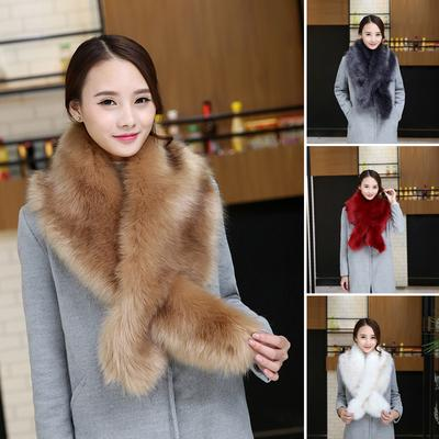 New Ladies Women Soft Faux Fur Large Stole Collar Wrap Shawl Evening Furry Scarf