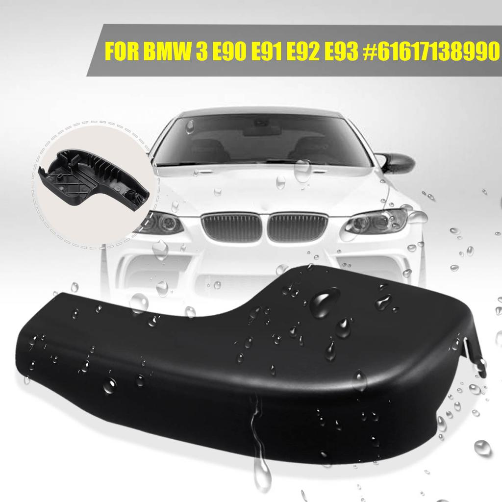 Durable 1PCS Front Wiper Arm Cover for BMW 3 Series E90 E92 E93 #61617138990