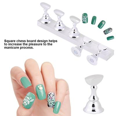 Practice Foot Mannequin With Nails For Pedicure Training Nail Art