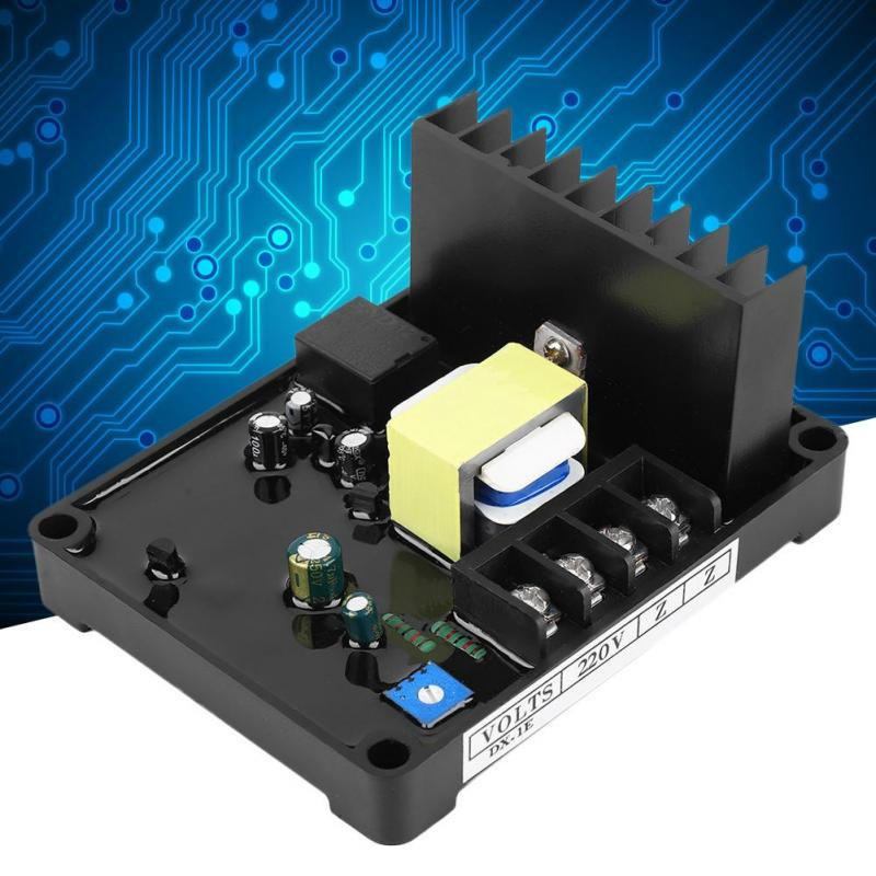 GB170 AVR Voltage Control Board for Brush Three Phase STC Alternator Automatic Voltage Regulator 10A Partial Current 20-100VDC Exciting Voltage