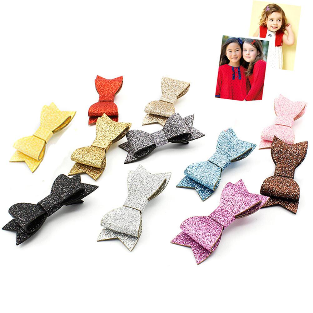 Baby Girl 5Pcs//set Pince à Cheveux Noeud Fleur Mini Barrettes Parti Star Kids épingles à cheveux