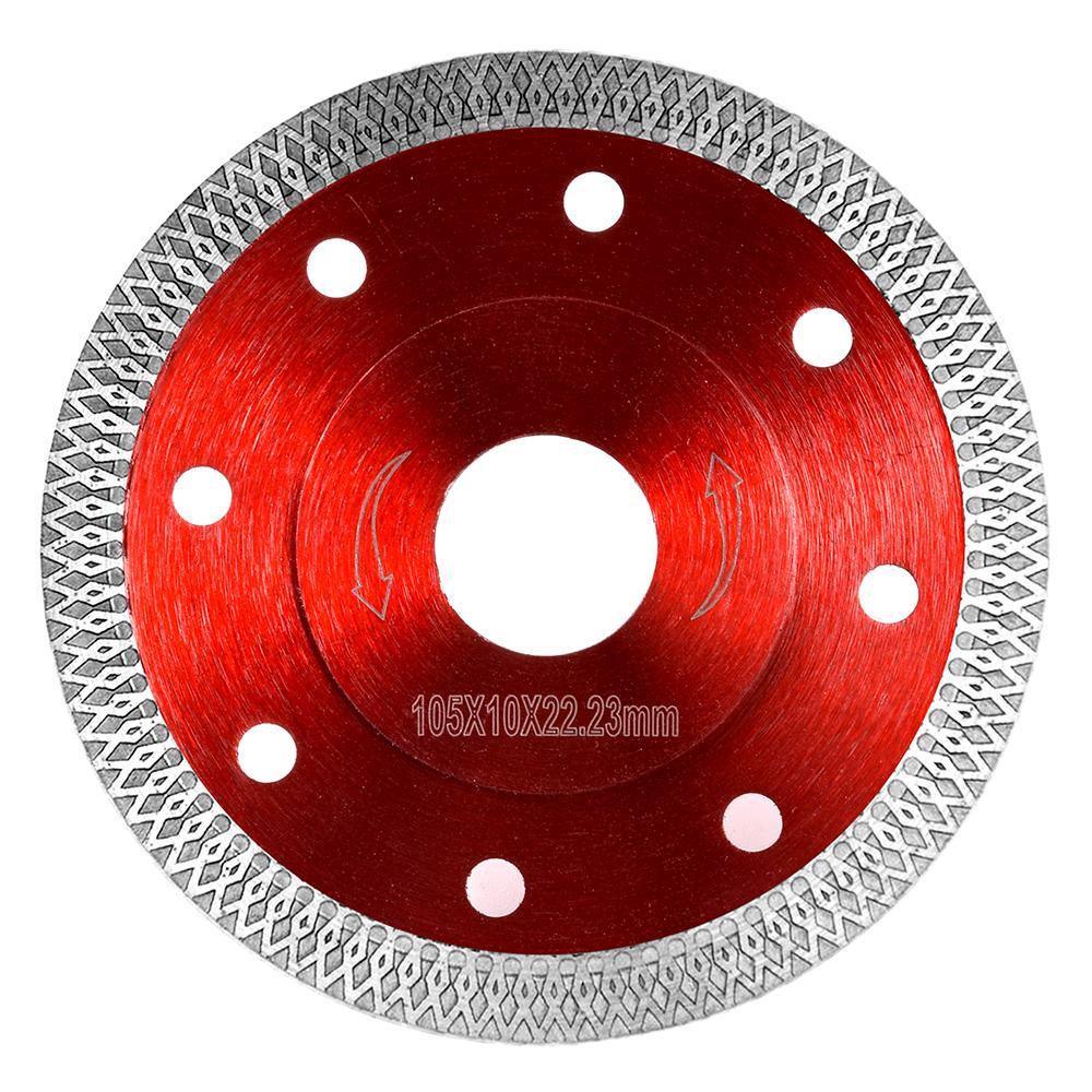 Thin 105mm Turbo Tile Diamond Cutting Disc Angle Grinder Blade Porcelain Stone