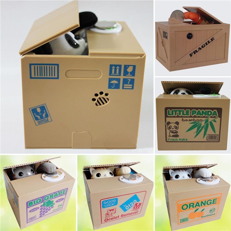 Забавный творческий детский подарок, копилка, коробка для экономии денег, автоматическая купить недорого — выгодные цены, бесплатная доставка, реальные отзывы с фото — Joom