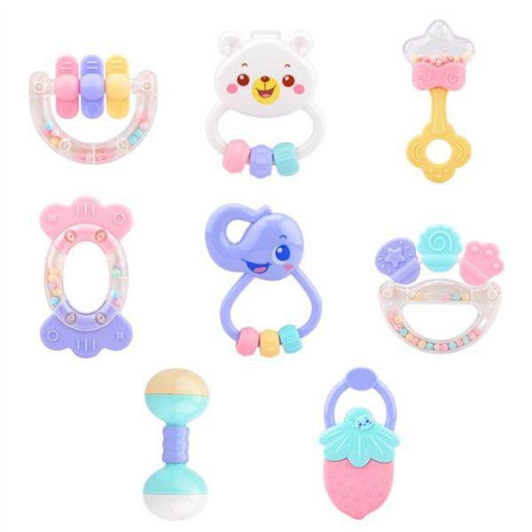 Baby Rattles & Mobiles Toys & Hobbies Animal Baby Rattles Teethers Grab Spin Shaking Bell Rattle Gift Toy For Infant Newborn Toddler