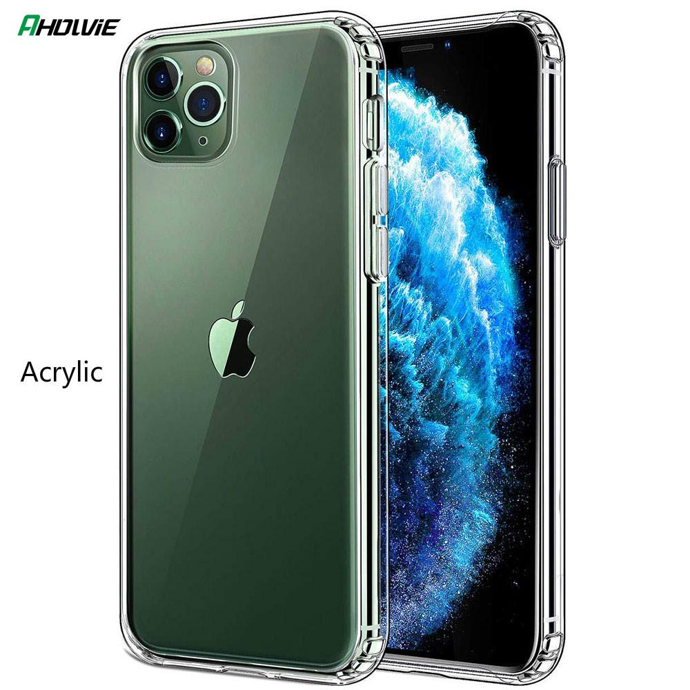 Transparent Hard Case For Apple iPhone 11 Pro Max iPhone Xr X Xs Max 6 6s 7 8 Plus Acrylic Clear Case Cover Brand 1.5mm-buy at a low prices on Joom ...